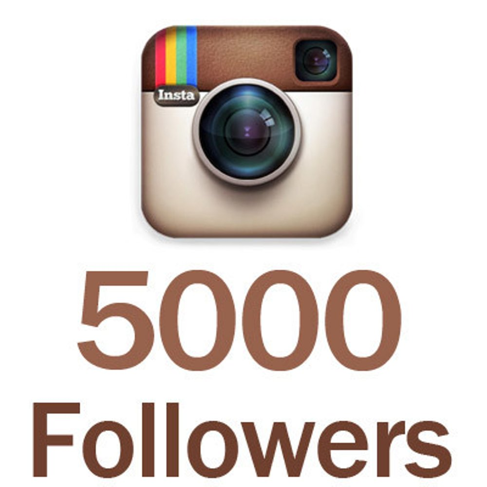 provide 5000 instagram followers real permanent