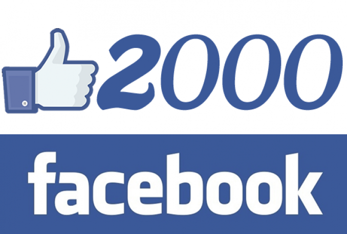 Add 2000 Real Facebook pages likes