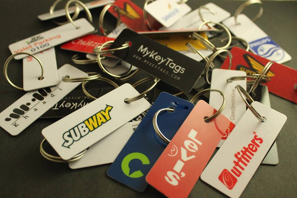find clients who want to buy customised keytags
