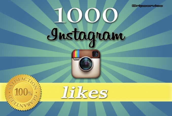 1000+ High Quality Instagram Likes or 500+ Instagram Followers