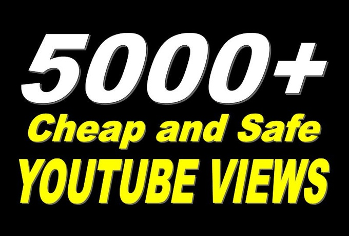 5,000 High Quality YouTube Views Fully Safe