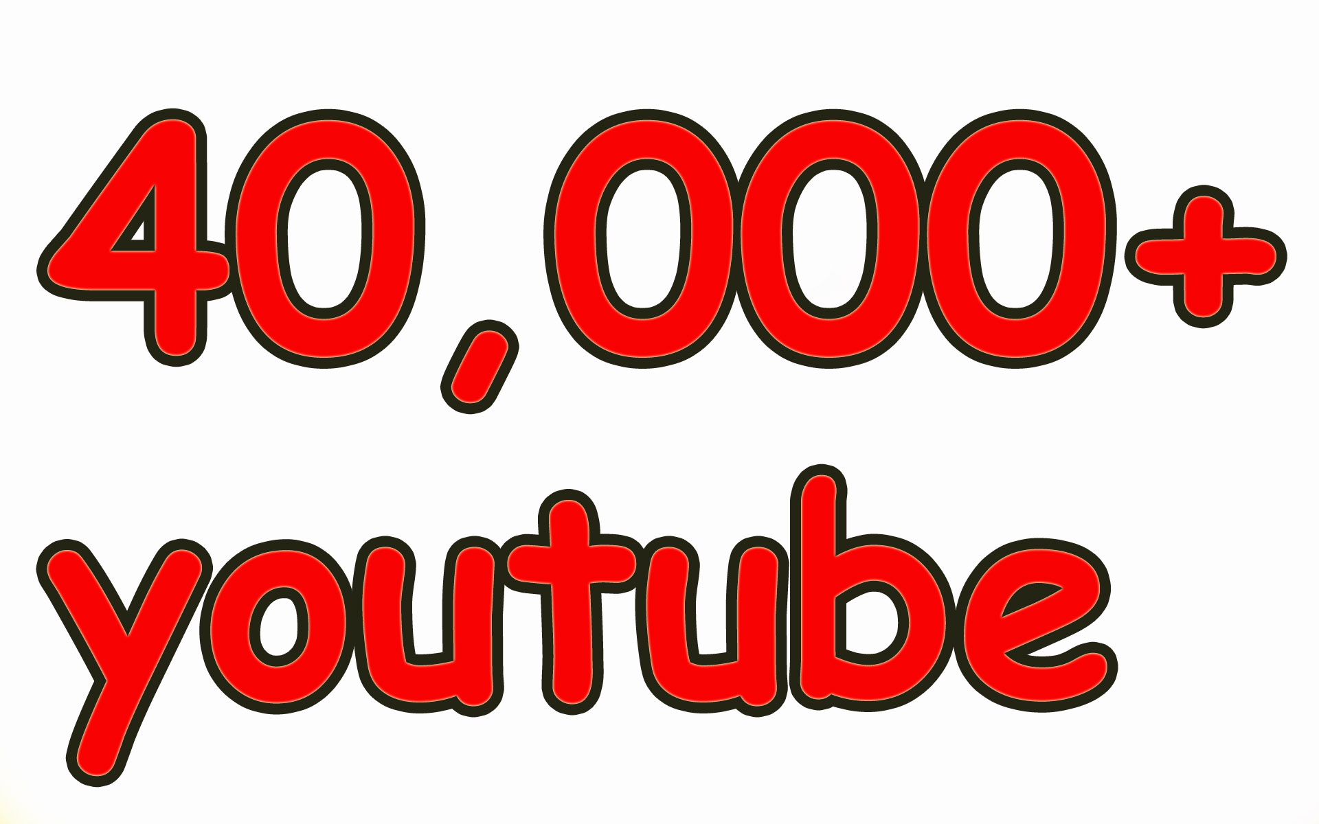 40,000 High Quality YouTube Views Fully Safe
