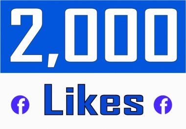 give 2000 facebook fan page likes