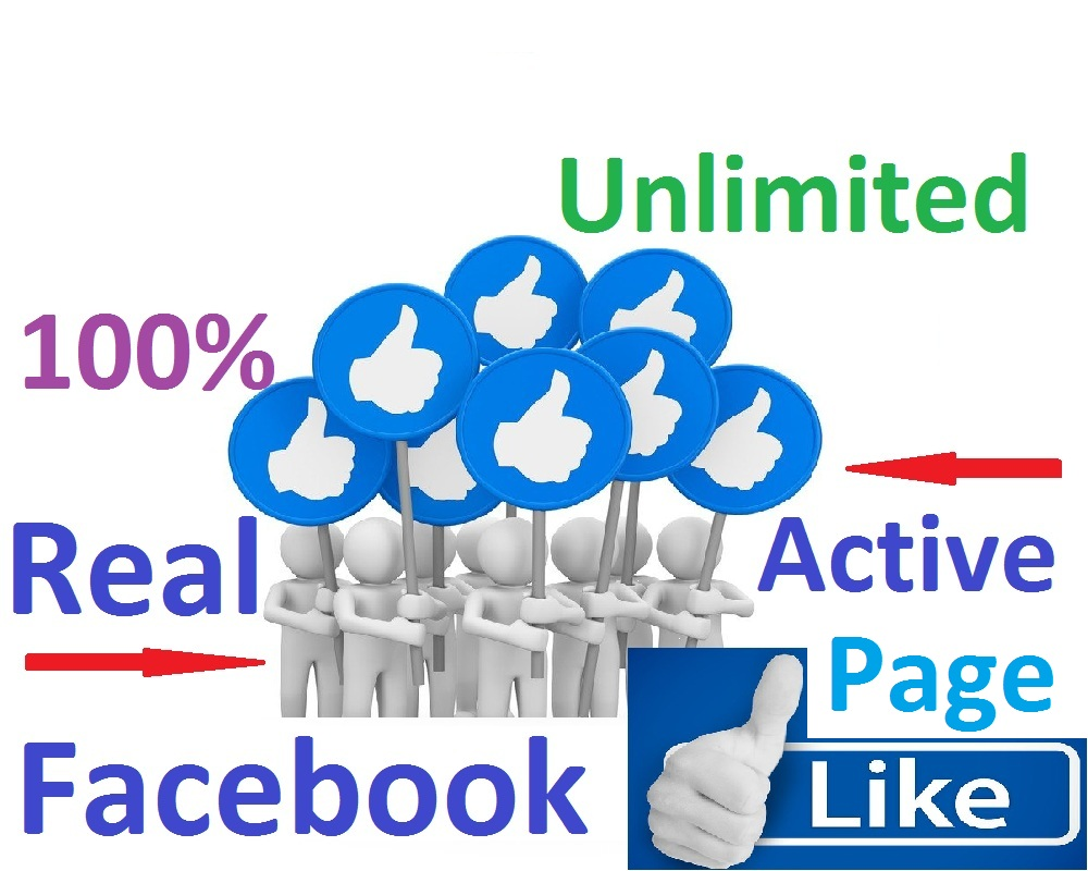 add unlimited real & active facebook likes