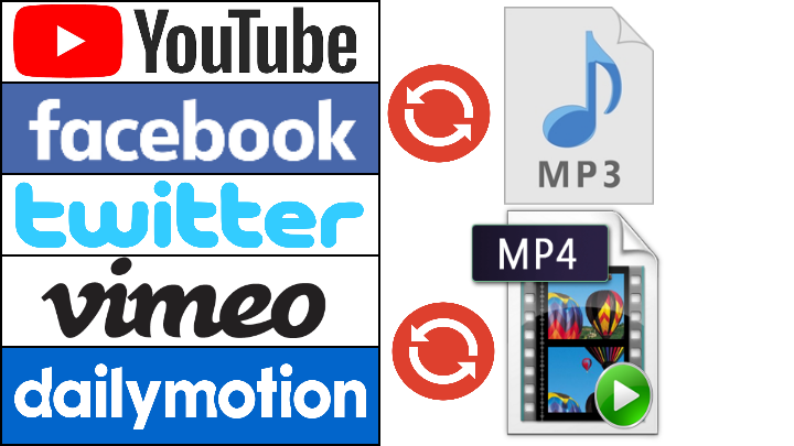 download and convert 10 videos to MP3 or MP4