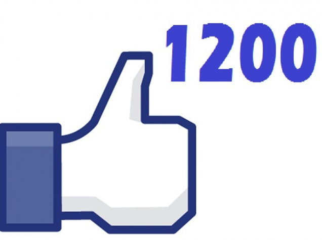 give 1200 facebook fanpage likes Permanent
