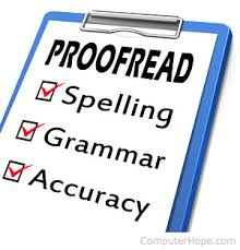 Proofread and Edit up to 1500 words