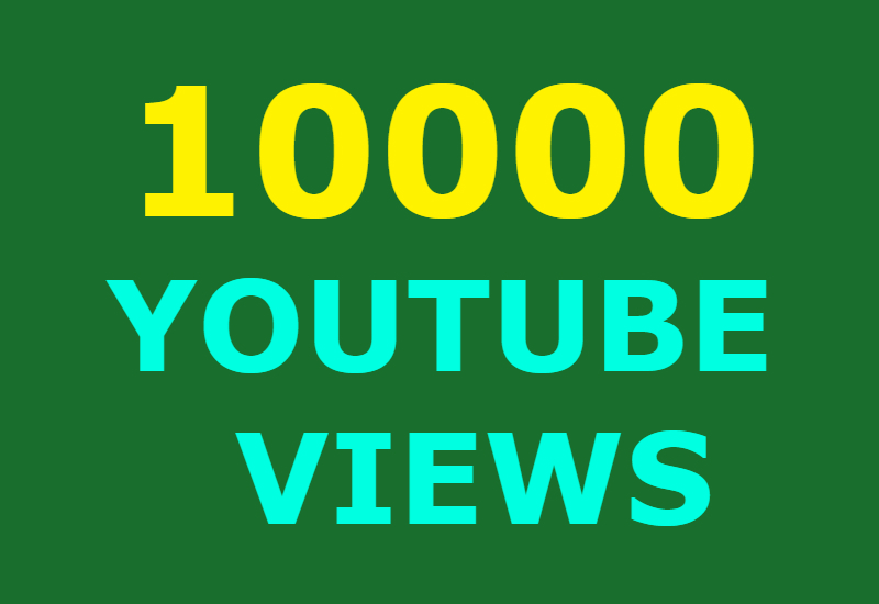 15000 Guaranteed Youtube views and 300 likes