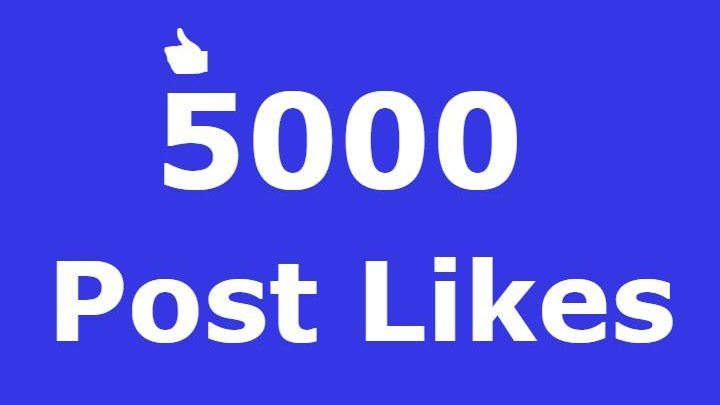 8000+ Facebook Post likes Non Drop in 48 Hours! -Great Service – Fast Delivery – High Quality – 100% SAFE!!!