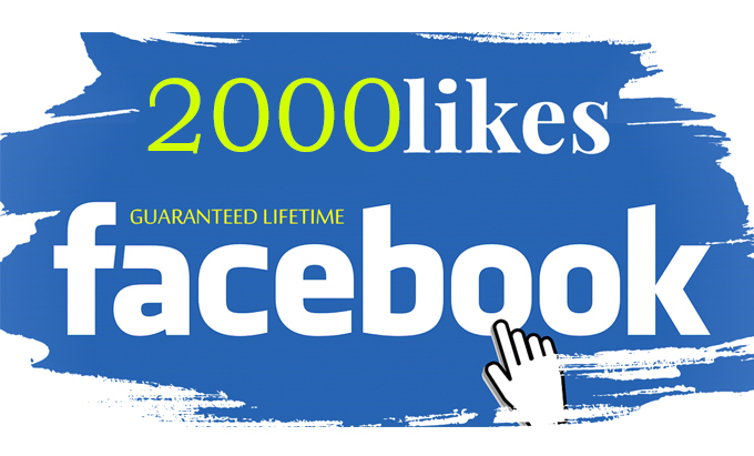 give 2000+ Facebook Page Likes.