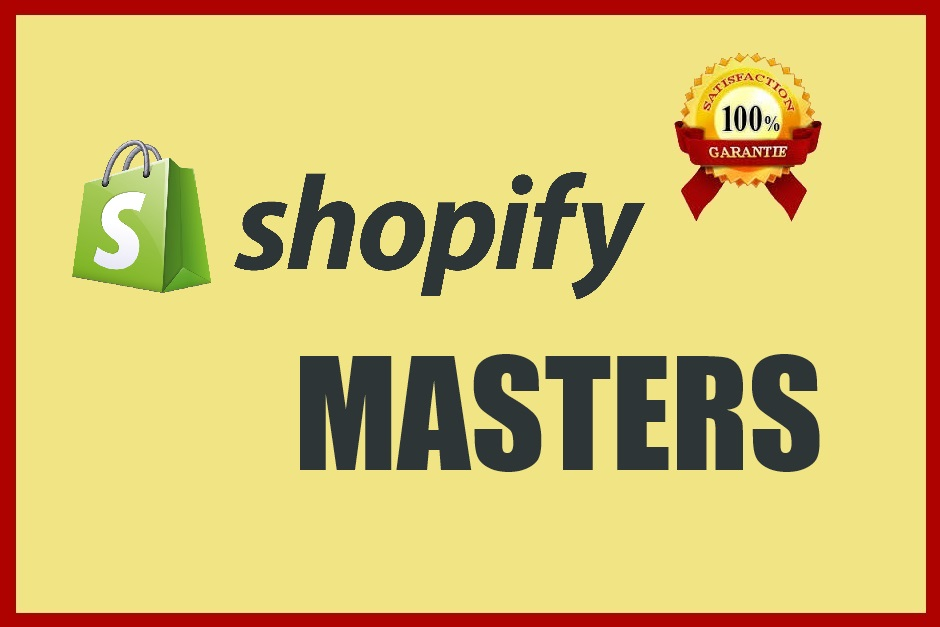 Design,Customize, Set Up Your Shopify Website
