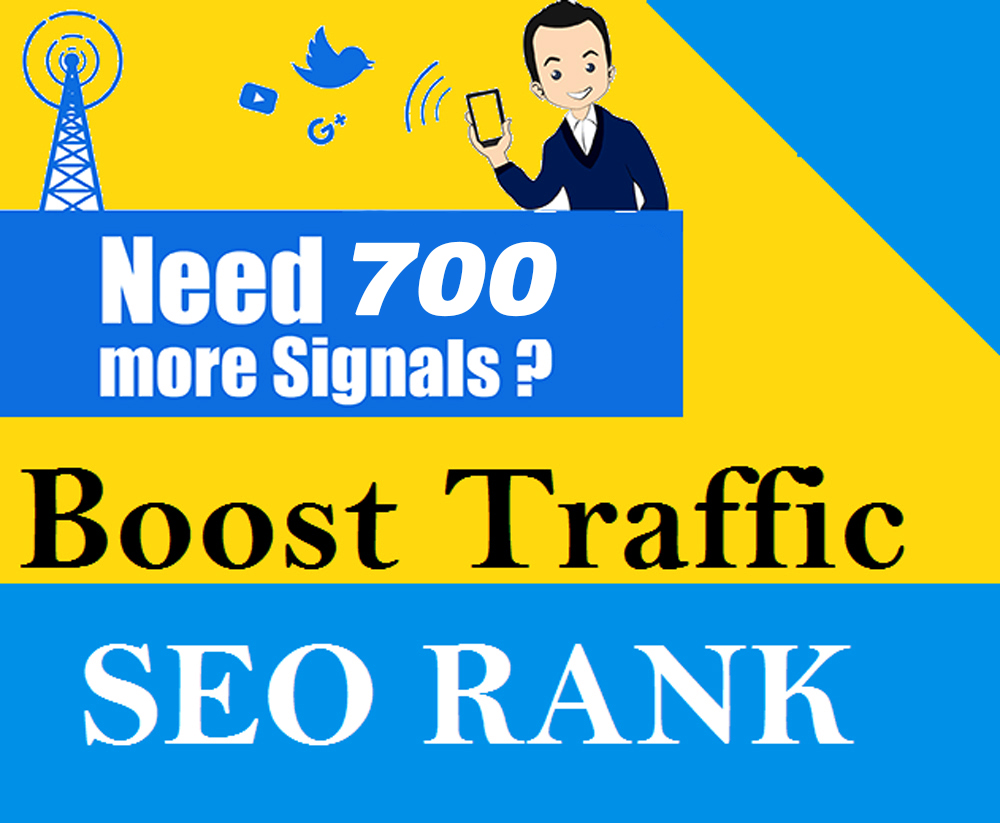 Powerful Social Platform 700 Permanent Social Signals Share For Video OR Website SEO Ranking Factors