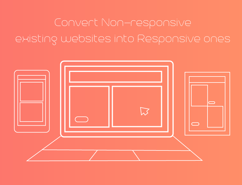 make your non-responsive site into a responsive one