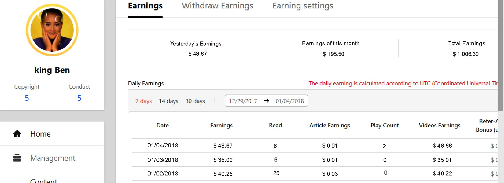 i will teach you how to make atleast $40 everyday, doing videos upload for just 20 minutes daily