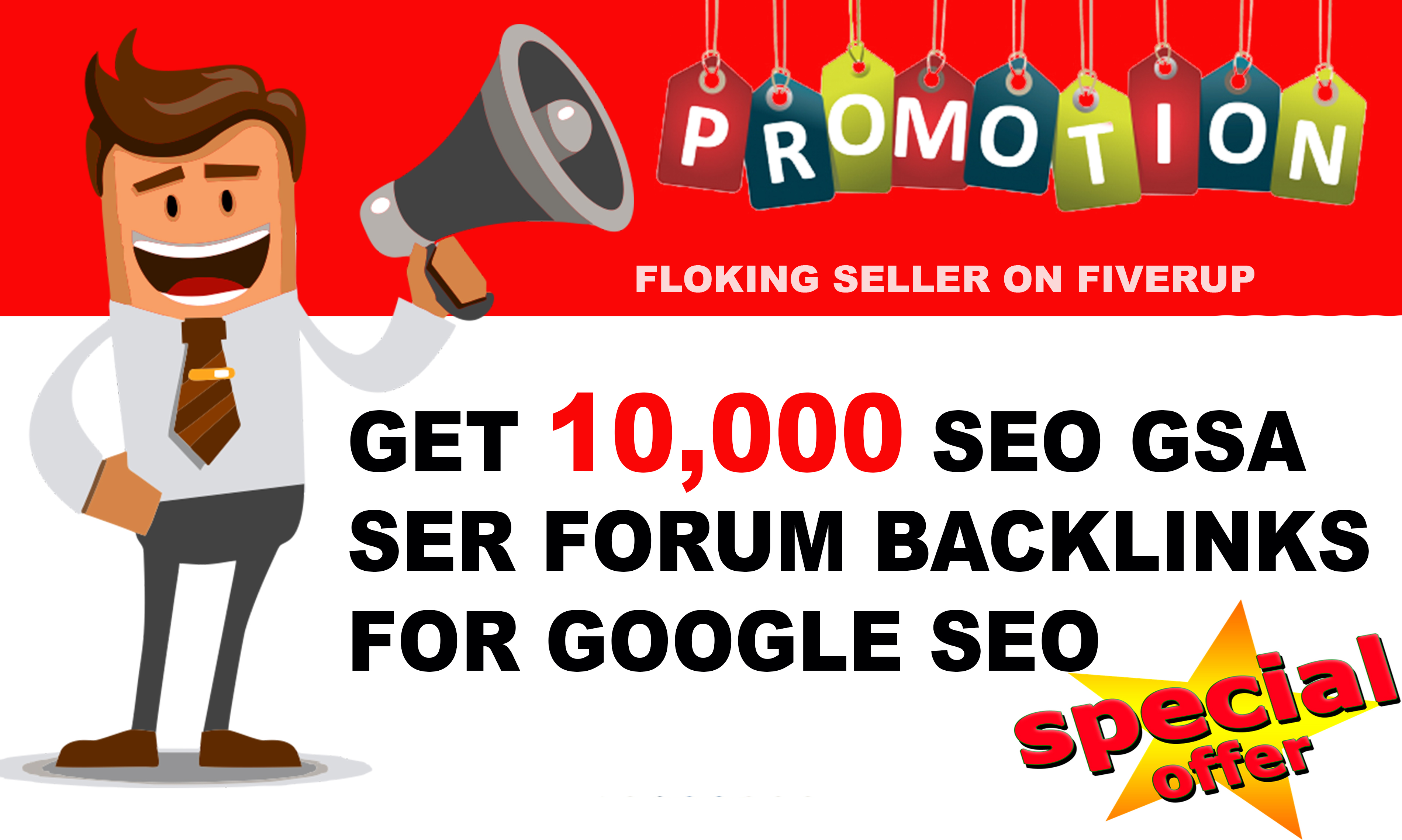 Provide You 10,000 Forum Backlinks for your Blog or website SEO