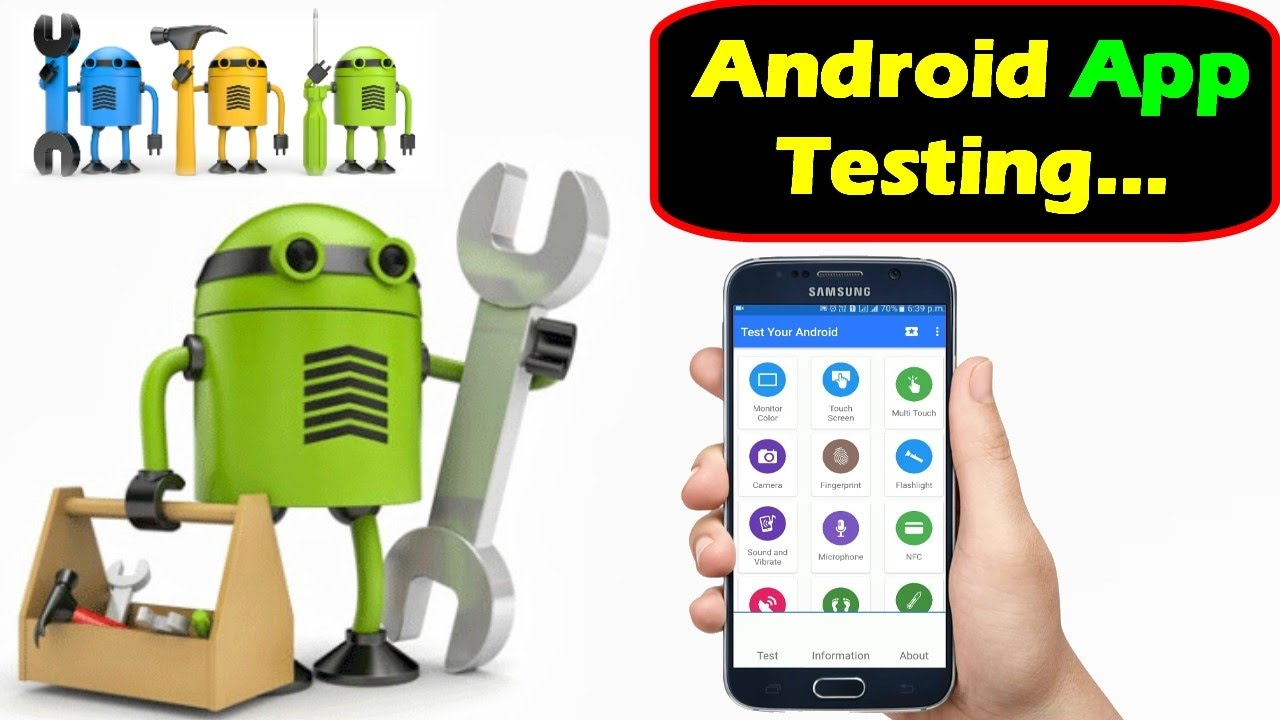 test your Android app and provide you with feedback about my experience