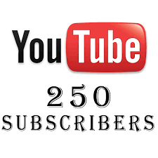 Provide 250+ Real Youtube Subscribers