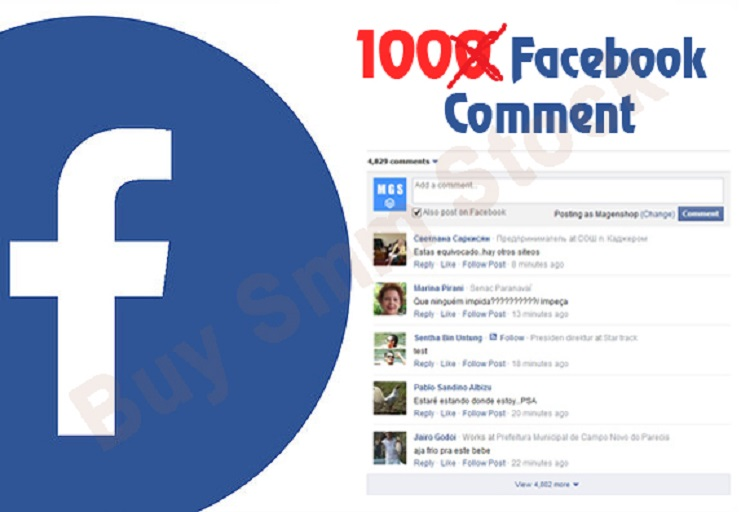 Provide you 100+ Real USA Facebook Photo,Post,Video,Status Comments or 100 Share