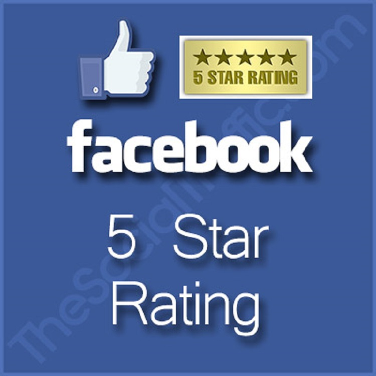 give you 100+ USA Active 5-Star Ratings on your Fan Page