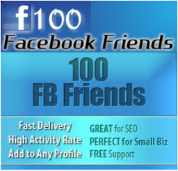 Give you 100+ Real & Active UK,USA & Europe Facebook Friends on Your Profile