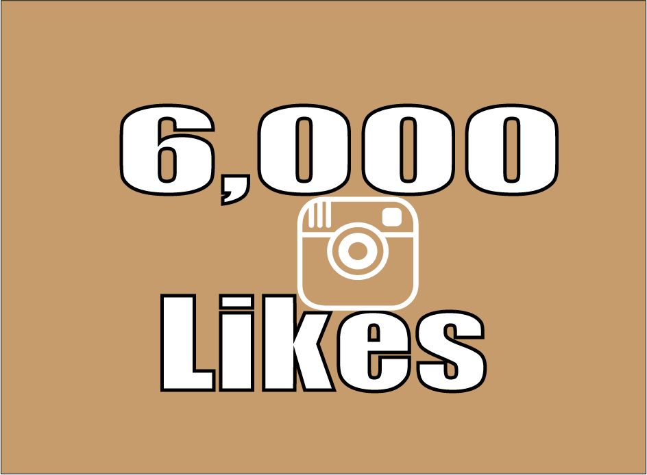 Provide you 6,000 instagram photo/post likes