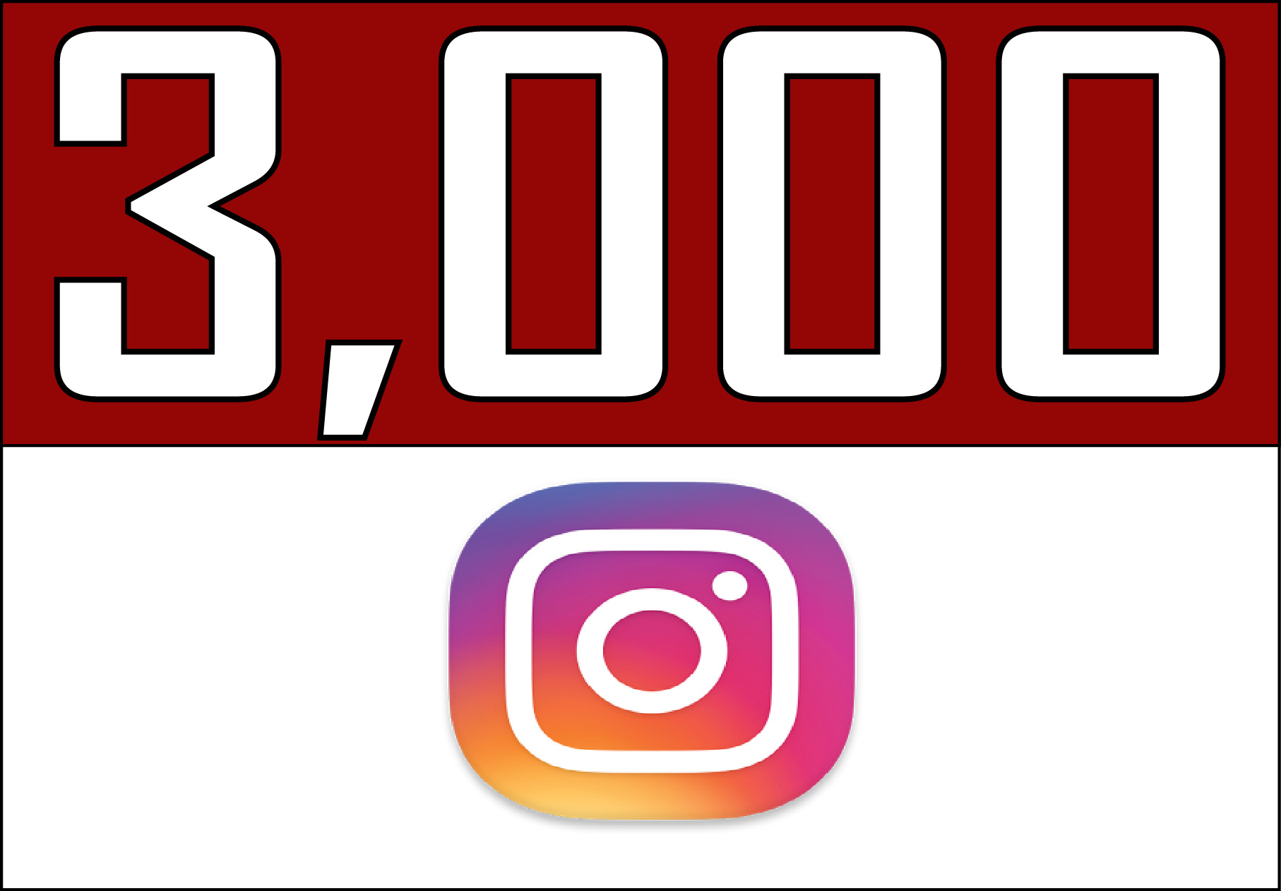 Instagram 3,000 Instant Fast (LIKES)