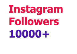 10000+ Stable Instagram Followers within 10-12 Hr
