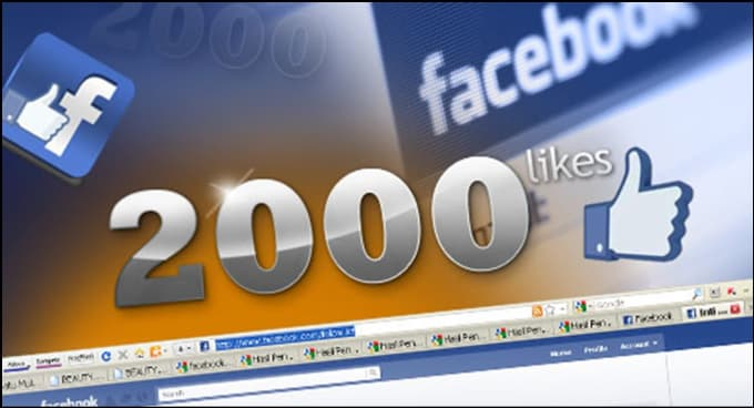 Provide you 2100+ Real & Safe Facebook website Likes