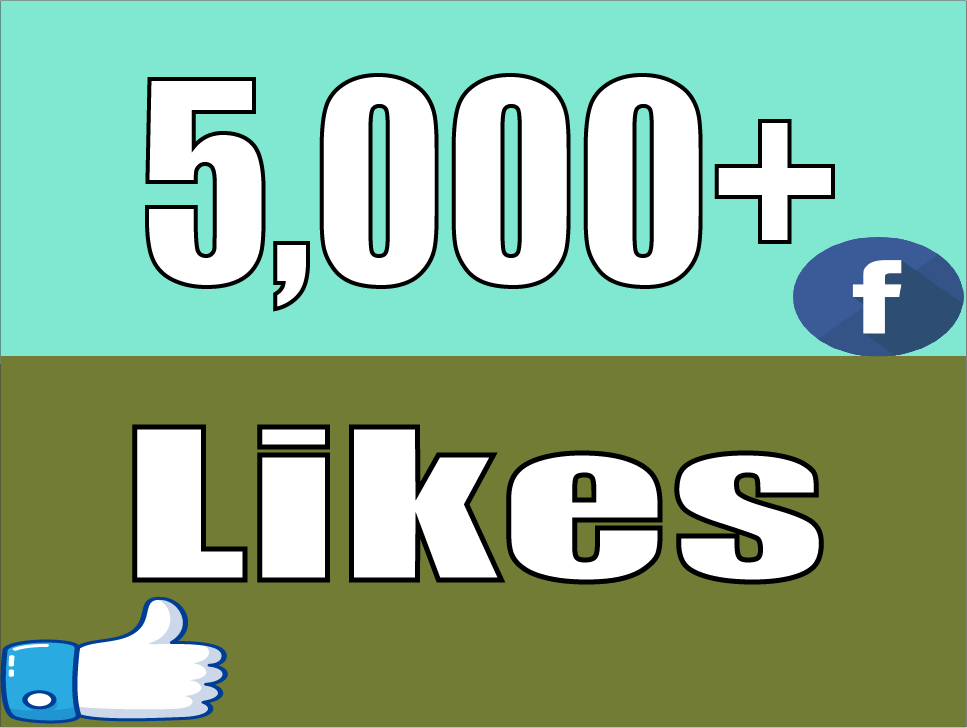 Give you Instant 5,000 Facebook Photo,Post Likes