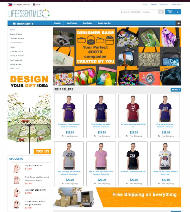 Build You an Automated Drop Shipping Website W/ More Than 5 Million Products that will generate you passive income