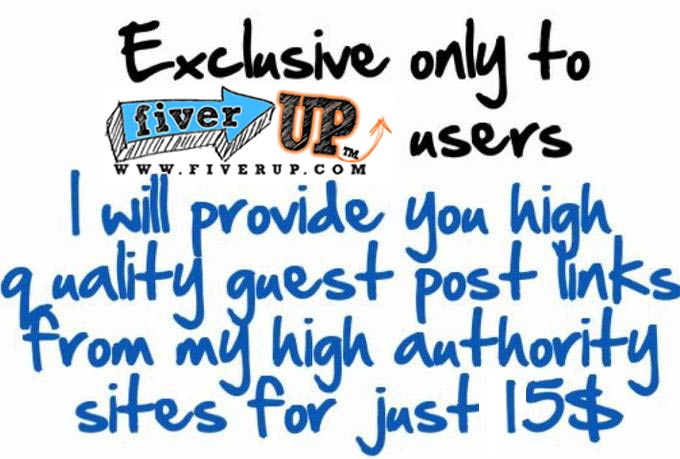 provide 75 High QUALITY Guest Blog Links from my Private Blog Network