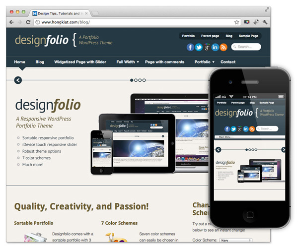 create Amazing website ... include (awesome design, domain name, hosting)