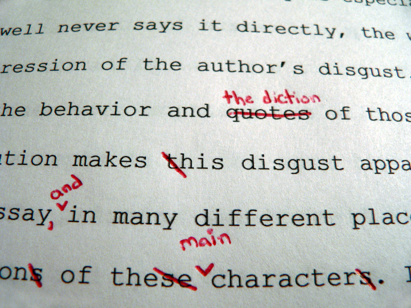 proofread and edit 3000 English words