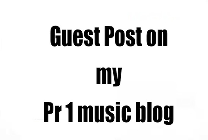 publish your guest post on my PR1 music blog