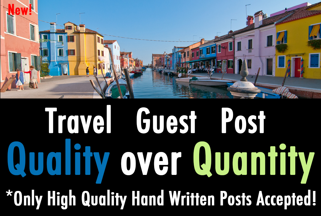 publish your Travel Guest Post on a Quality PR2 Blog