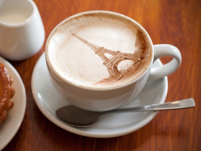 draw your photo in coffee cup