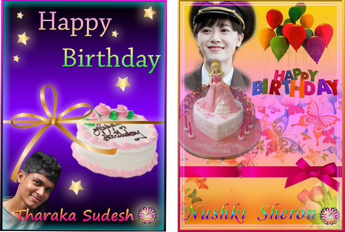Creat Birthday Card for you