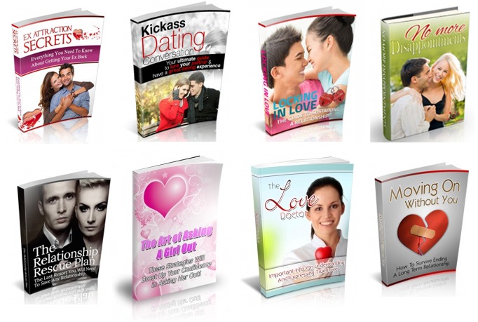 give you 75 Dating and Relationship Ebooks