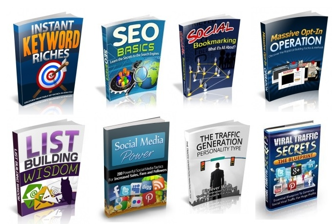 give you 37 SEO and Promotion Ebooks