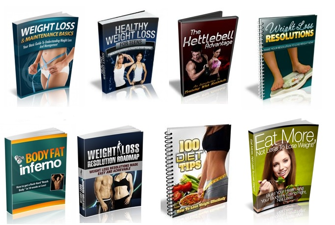 give you 35 Weight Loss Ebooks