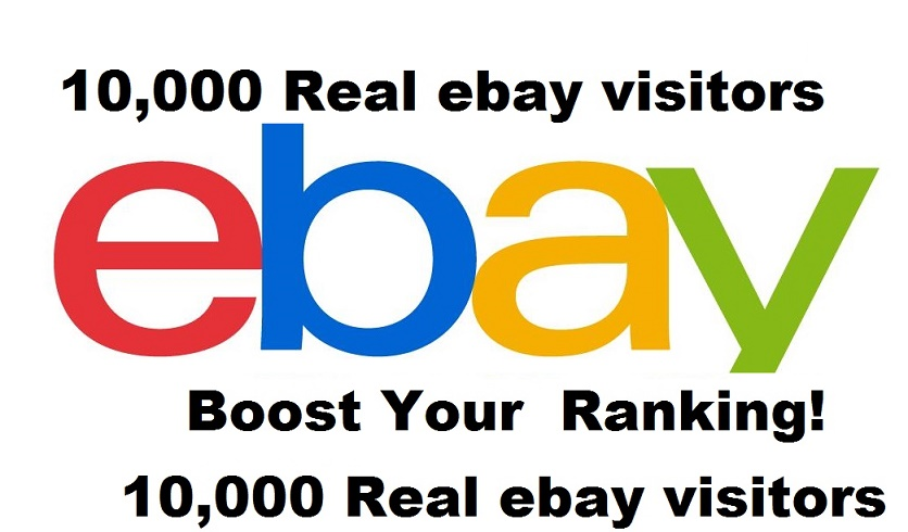 10,000 eBay VISITORS to your eBay Product Page Boost your Ranking