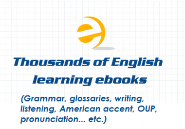give you 5 GB English learning files