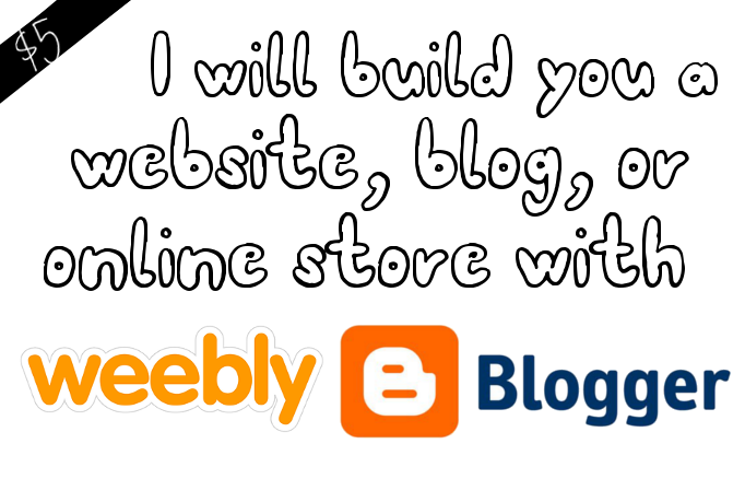 create a website, blog, or online store for you