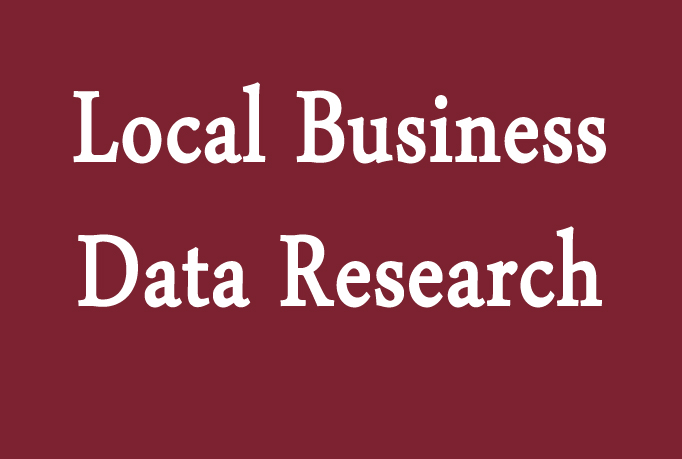 do local business data research find for you contact, email, web
