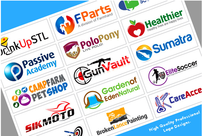 design Professional Logos, banner High quality