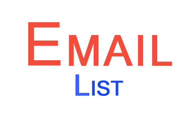 do research verified business email address list for any business types