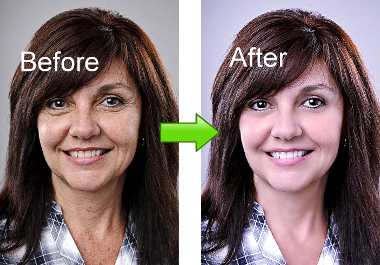 retouch your face photo