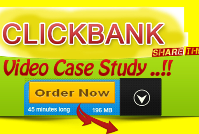Send you click bank case study video to make first sale