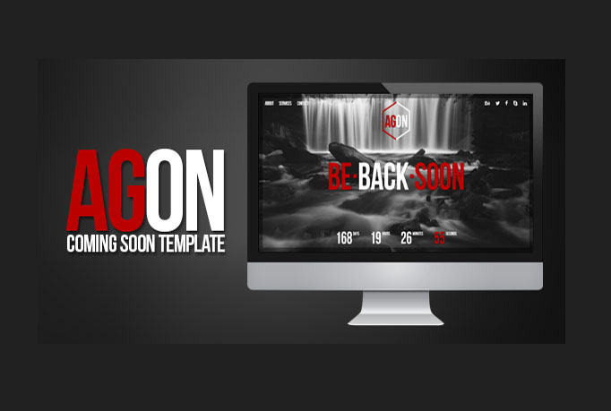 give you great clean HTML coming soon page