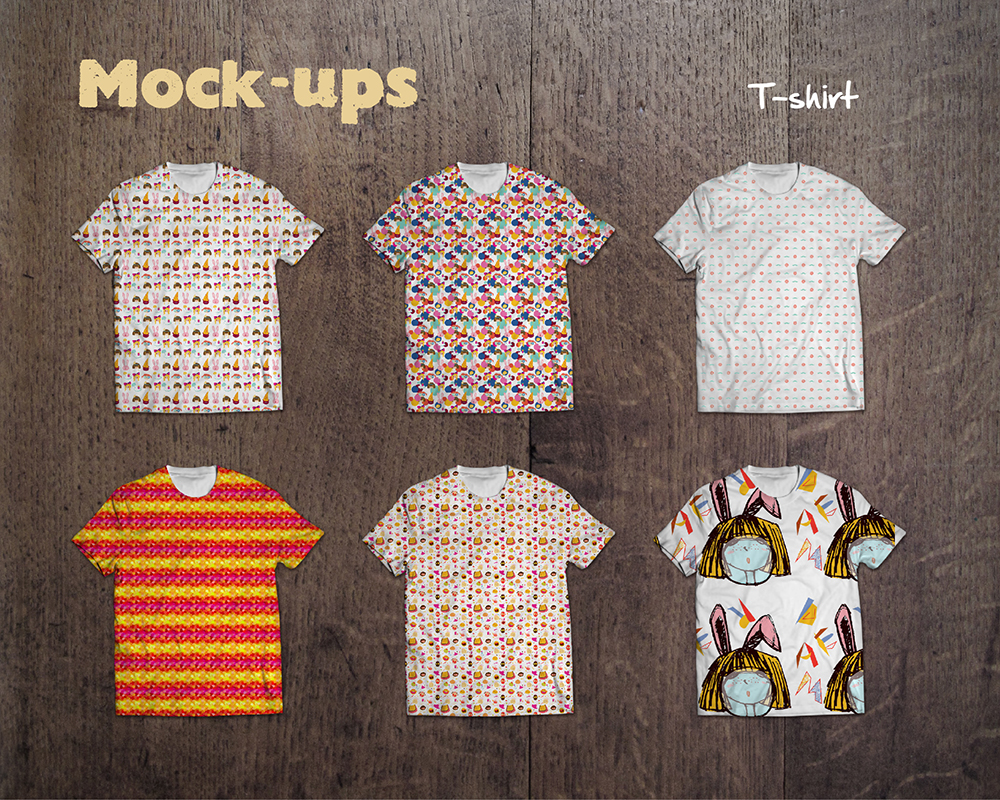 design a creative cool t-shirt graphic with 3 more concepts as you choose
